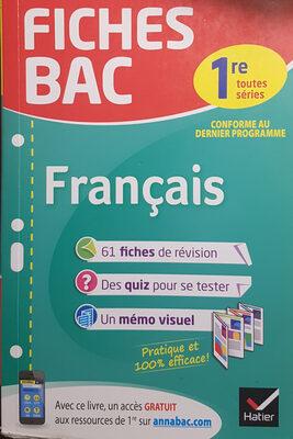 FICHES BAC : Français - Produit