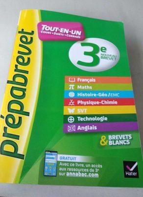 PrépaBrevet 3e TOUT EN UN - Product