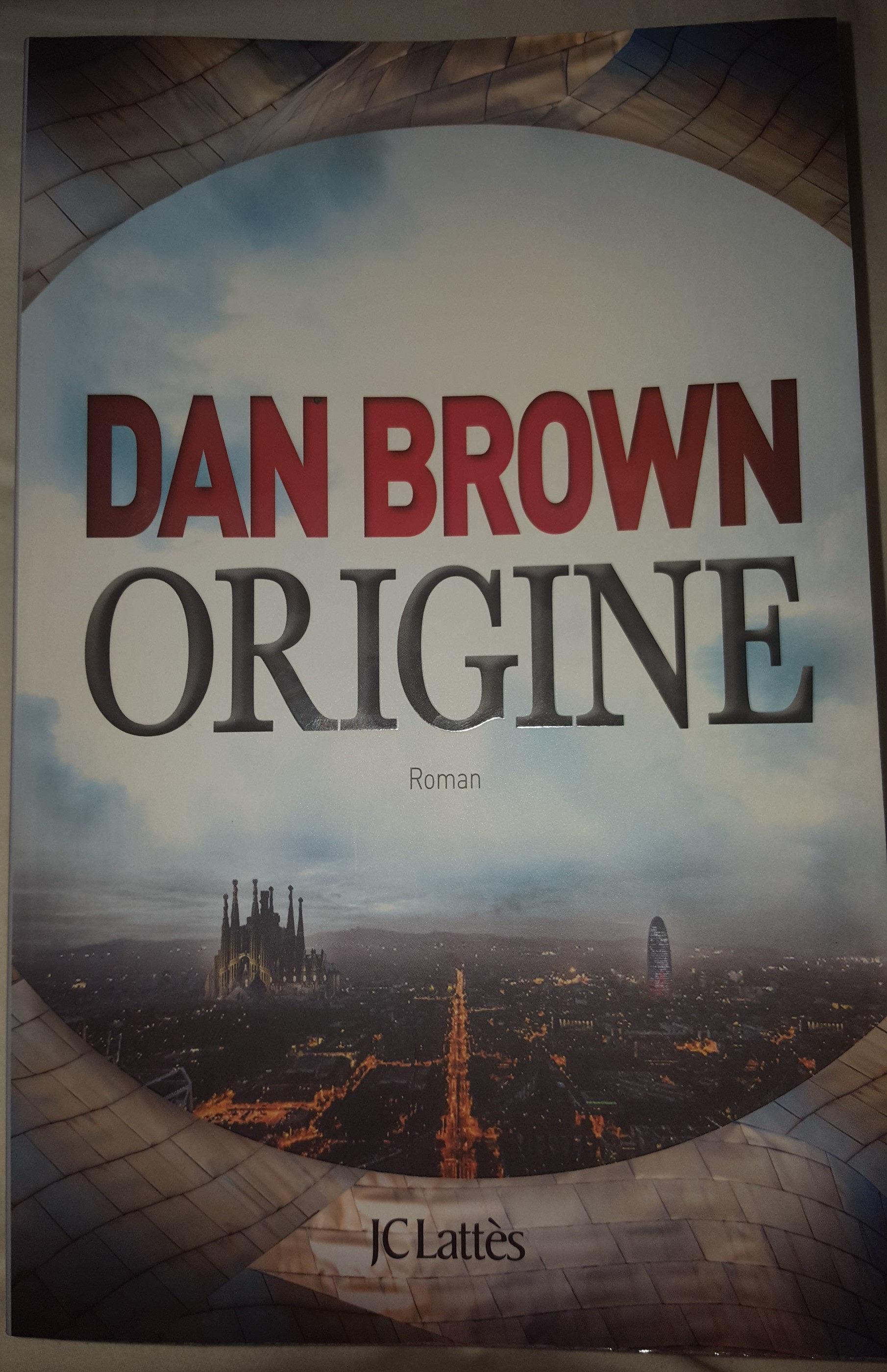 Livre Origine de Dan Brown - Product - fr