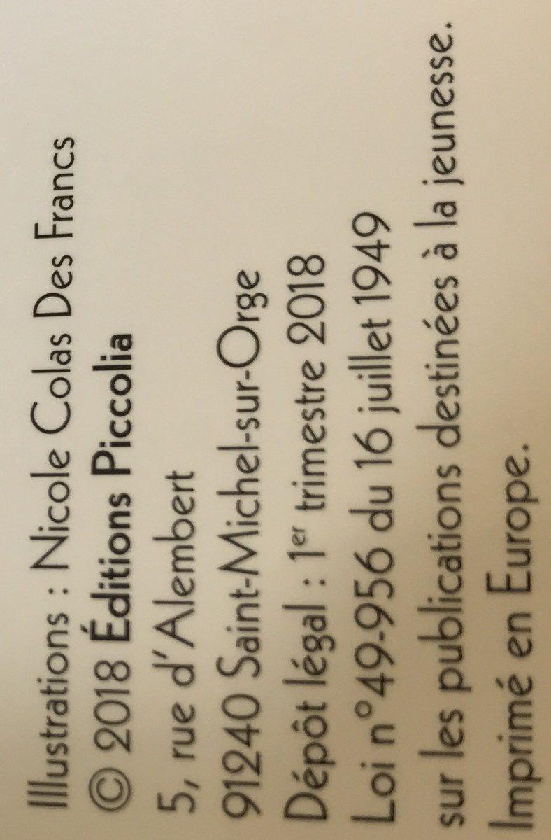 La ferme - Ingredients - fr