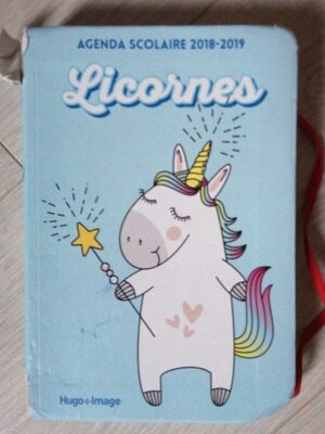 Agenda licorne - Product - fr