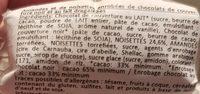 Chocoli - Ingredients