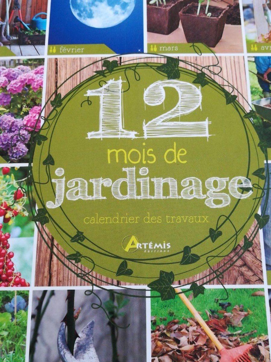12 mois de jardinage - Produit - fr