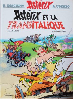 Astérix et la transitalique - Produit