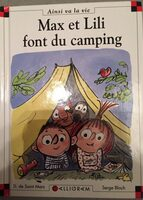 Max et Lili font du camping - Produit - fr