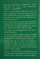 La classes touriste - Ingredients - fr