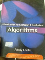 Introduction to Design and Analysis of Algorithms - Ingredients