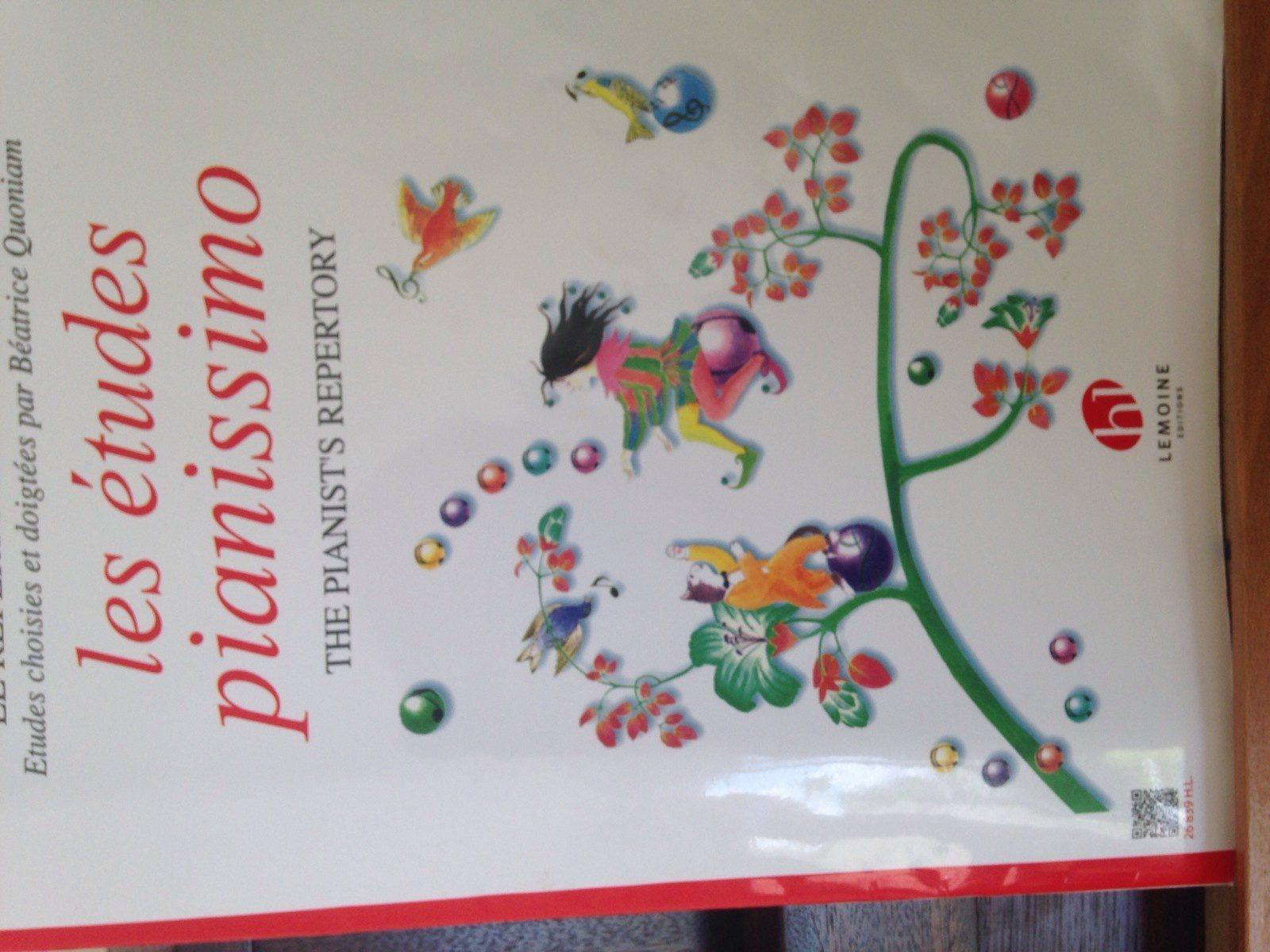 les etudes pianissimo - Ingredients - fr