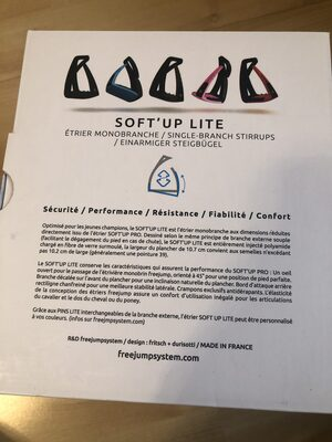Étriers soft up lite - Ingredients - fr